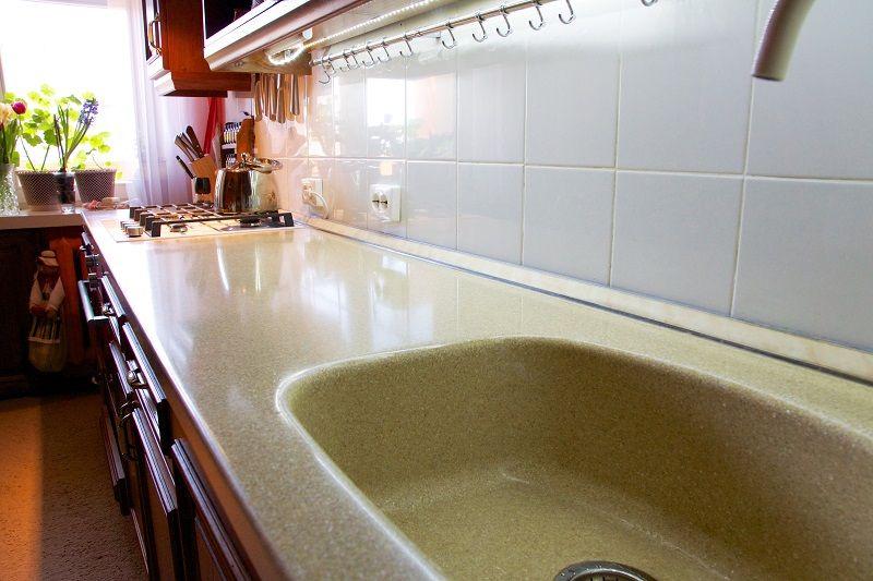 Акриловая столешница для кухни цена за метр